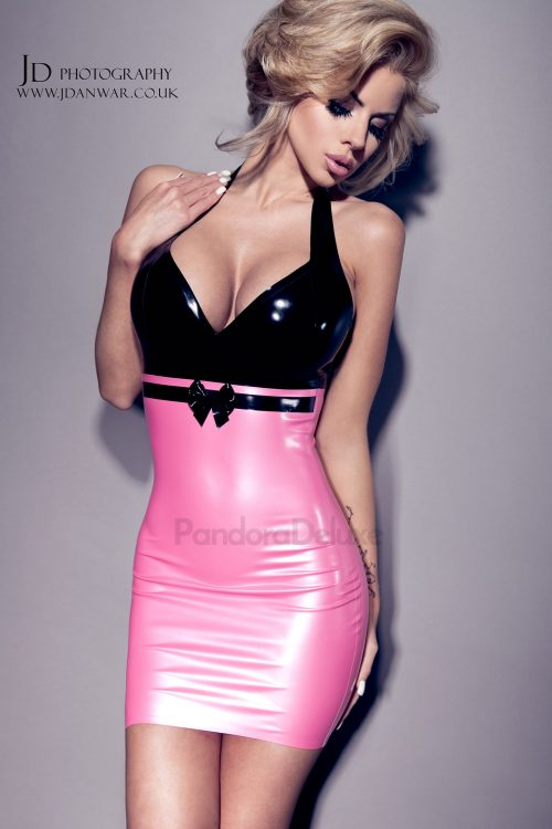 Lily Latex Dress by Pandora Deluxe