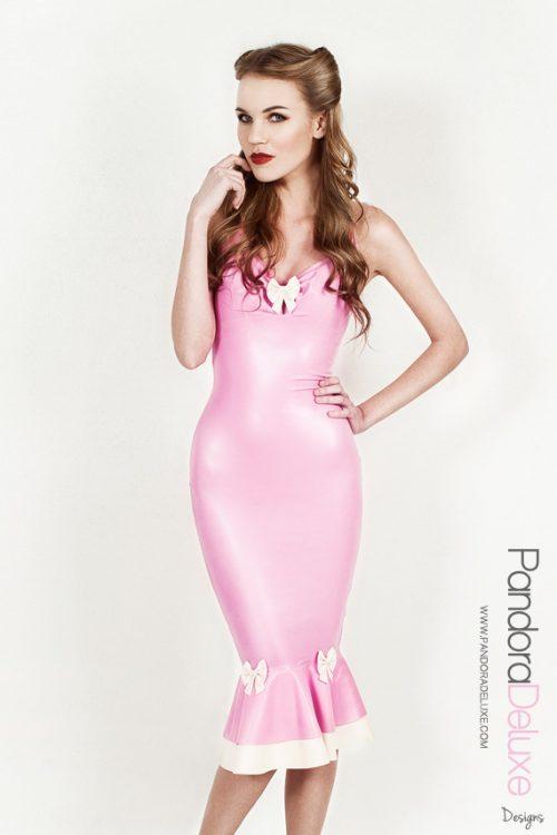 Pandora Latex Pencil Dress by Pandora Deluxe