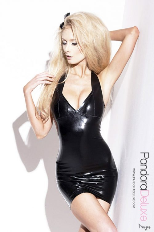 Basic Latex Dress by Pandora Deluxe
