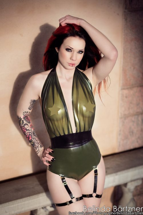 Eva Latex Top by Pandora Deluxe