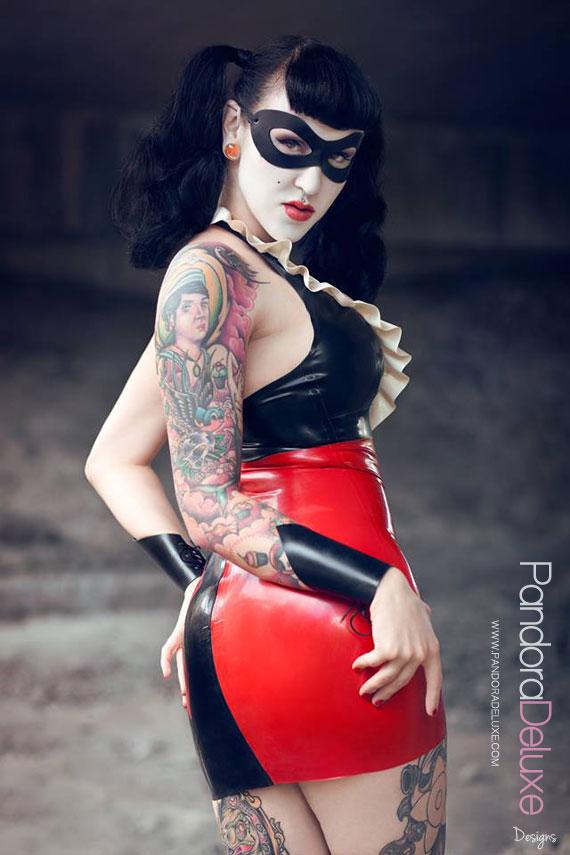 Harley Quinn Latex Dress