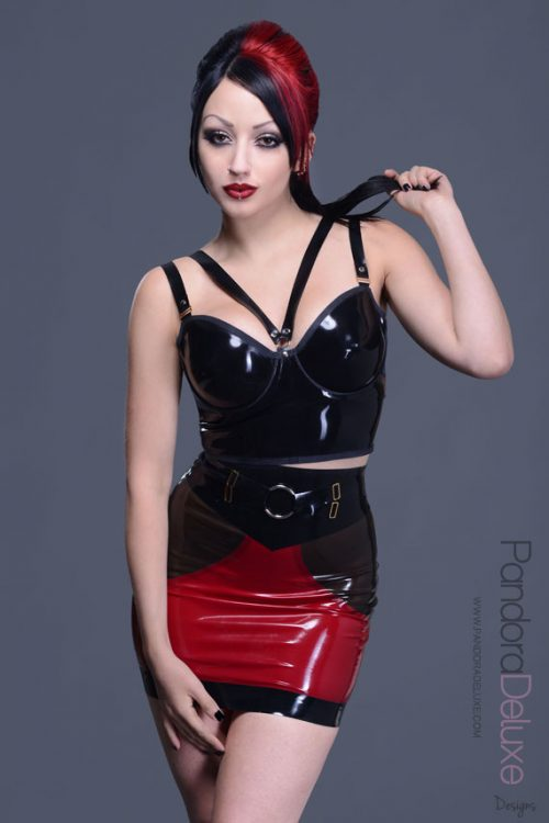 Luxuria Latex Skirt