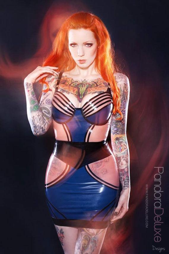 Milla Latex Skirt