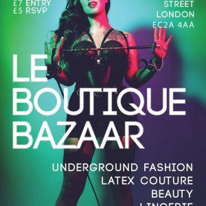 Le Boutique Bazaar- Valentine's Decadence