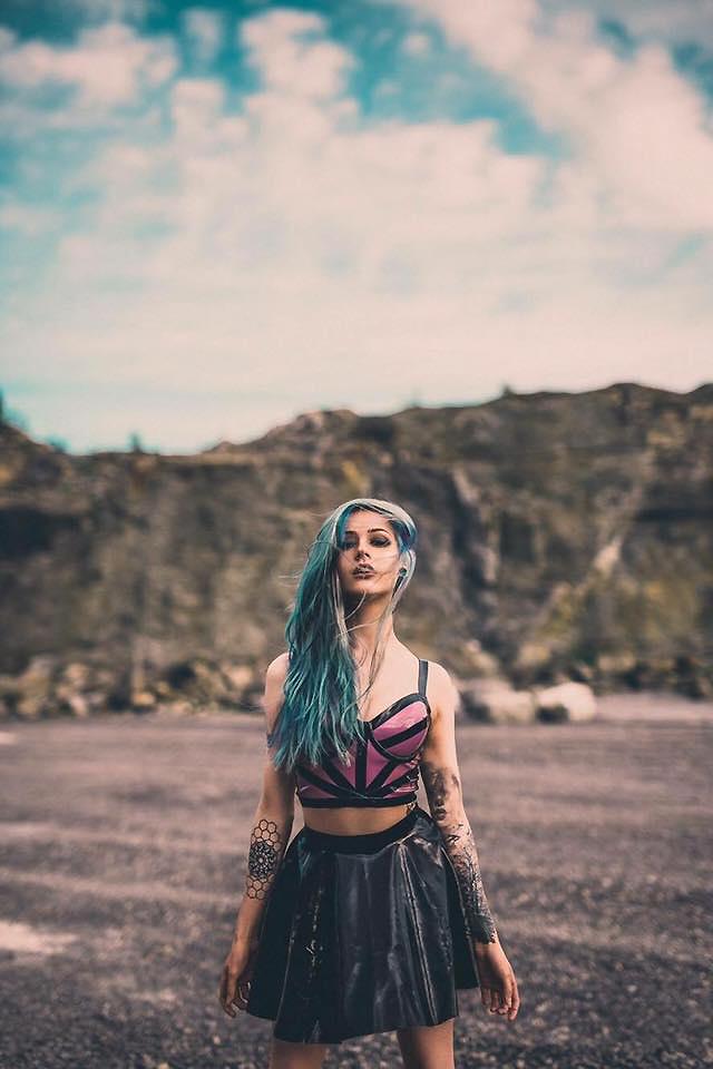 Latex Skater Skirt by Pandora Deluxe