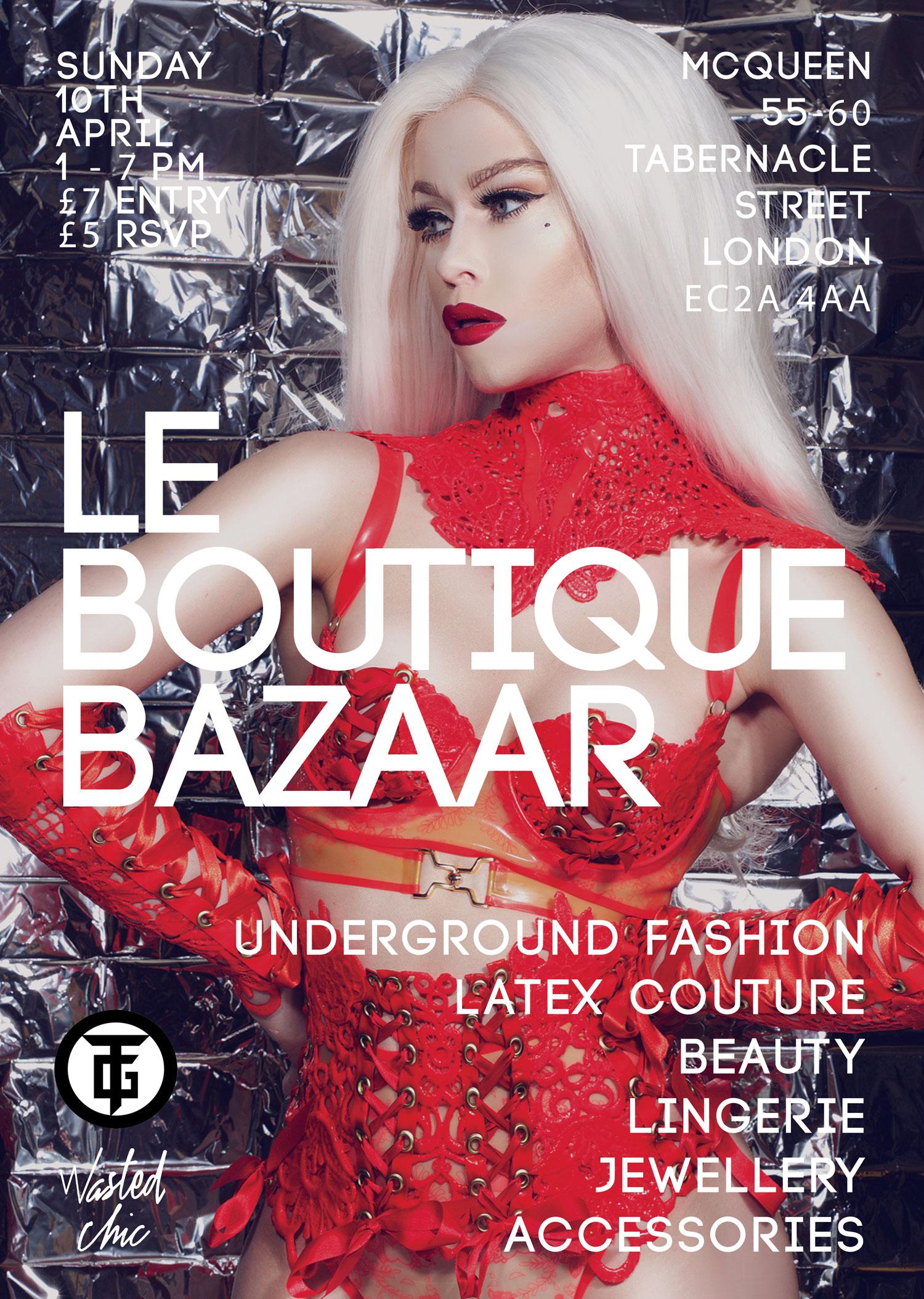 Le Boutique Bazaar- Springtime Soiree & TG 25 outfit special