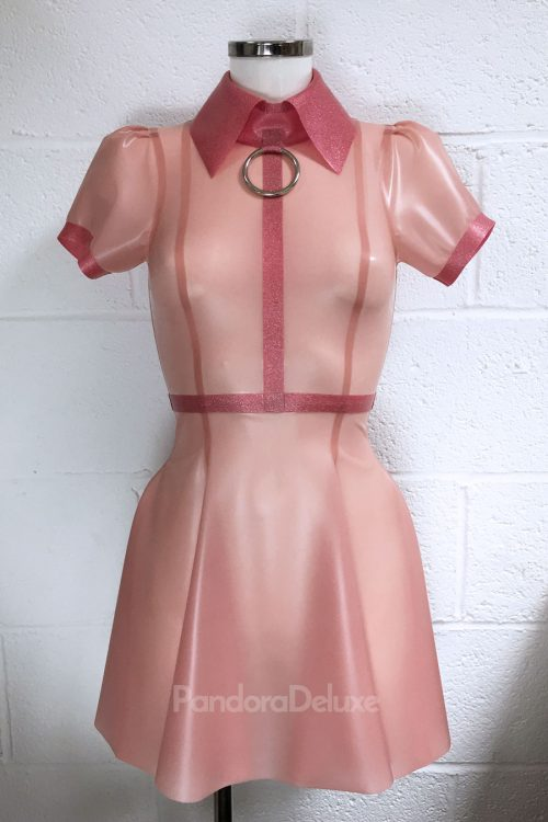 Emily Latex Dress - LIMITED GLITTER EDITION