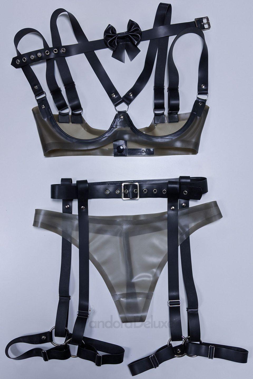 Spellbound Harness Lingerie Set