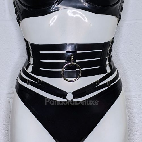 Raven Multi Strap Belt by Pandora Deluxe
