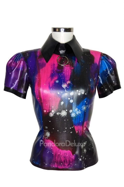 Galaxy Latex Emily Top by Pandora Deluxe