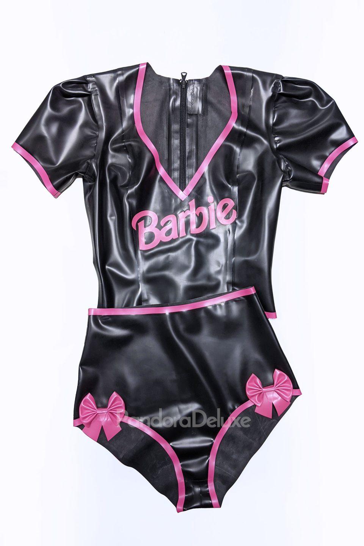 Goth Barbie Doll Inspired Latex Costume