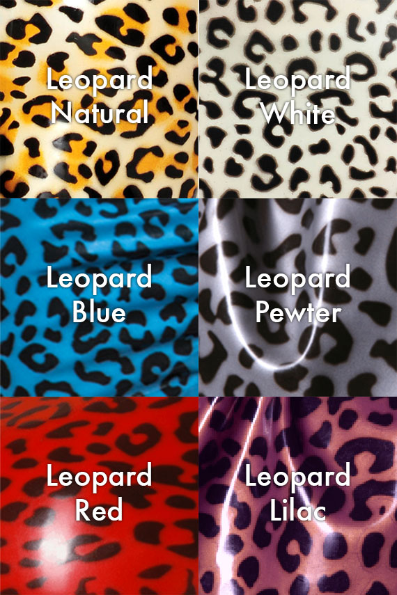 leopard latex colours – pandora deluxe